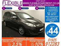 2014 MAZDA 5 1.6D SPORT VENTURE EDT GOOD / BAD CREDIT CAR FINANCE AVAILABLE