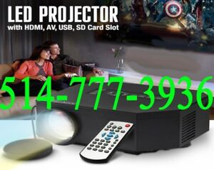 ★★★ Projecteur Portable Mini LED 1080P Full HD Presentation ★★★
