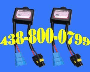 Warning Cancellers HID Anti Flicker Error Condensateur Capacitor