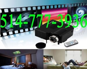 ★★★ Mini LED Projecteur Portable Pico Nec HDMI Full HD 1080P ★★★