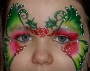 Professional face painter available for hire Kingston Kingston Area image 1