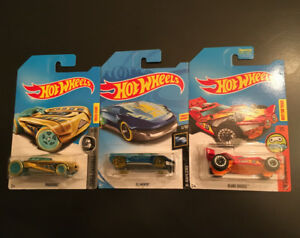 Hot Wheels Treasure Hunt - Pharodox, El Viento, Blade Raider