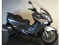 2009 59 SUZUKI AN 400 K9 BURGMAN GREY MAXI-SCOOTER HPI CLEAR 31K TRADE SALE