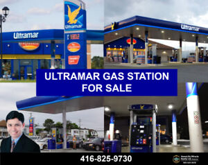 Ultramar Gas Station Business For Sale!!