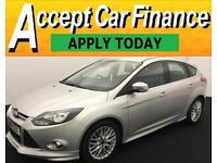 Ford Focus 1.6 SCTi ( 182ps ) 2014MY Zetec S FROM £48 PER WEEK !