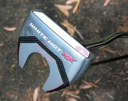 Odyssey White Hot RX Lady V-Line Putter Fang. AS NEW