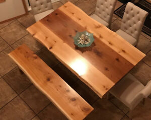 Live edge Tables by Deep Forest