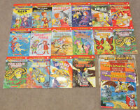 Magic School Bus chapter books + story books