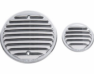 ARLEN NESS® FINNED ENGINE COVERS - CHROME OR BLACK