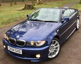 BMW 325 2.5 Ci**M Sport Convertible**ONLY 47,000 MILES WITH FSH!**