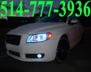 VOLVO KIT HID XENON CONVERSION CAR HEADLIGHTS PHARE INSTALLATION