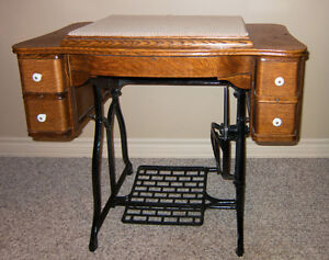Treadle Sewing Table