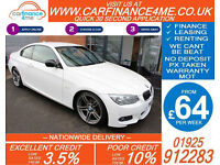 2011 BMW 318 2.0 SPORT PLUS GOOD / BAD CREDIT CAR FINANCE FROM 64 P/WK