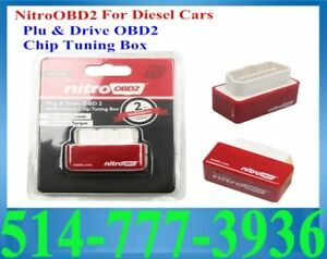 OBD2 Nitro Diesel Red Essence Rouge Turbo Booster Power Speed