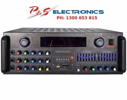 Brand New Audio Rock 4000 Amplifier Karaoke DJ ROCK 4000