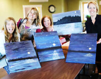 Paint Night-Paint this town