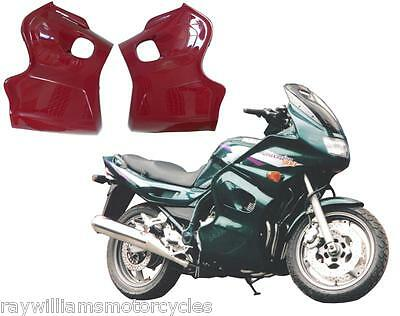 <em>YAMAHA</em> DIVERSION 900 ALL YEARS GLOSS BURGUNDY SIDE PANEL FAIRING LOWER