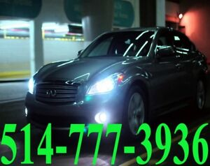 iNFiNiTi KIT HID XENON CONVERSION HEADLIGHTS CAR INSTALLATION