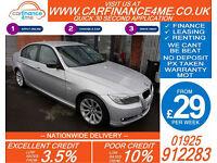 2009 BMW 318 2.0I SE GOOD / BAD CREDIT CAR FINANCE FROM 29 P/WK