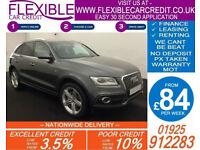 2014 AUDI Q5 2.0 TDI QUATTRO S-LINE + GOOD BAD CREDIT CAR FINANCE AVAILABLE
