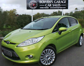 2009 FORD FIESTA 1.6 TITANIUM 5DR - 2 OWNERS - FULL S/HISTORY - TOP SPEC