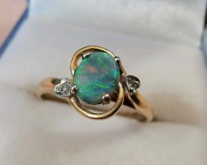 008299d72 opal ring in Queensland   Women's Jewellery   Gumtree Australia Free Local  Classifieds