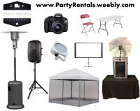 Discount Rentals For Your Party