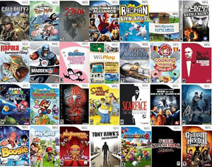 ALL Wii GAMES ONLE $5.00 EACH @ ABC EXCHANGE PAWNBROKERS