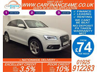 2013 AUDI Q5 2.0 TDI QUATTRO S-LINE + GOOD / BAD CREDIT CAR FINANCE AVAILABLE