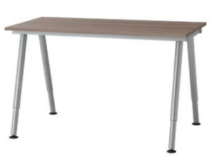 $100 - IKEA GALANT DESK/TABLE -GREY COLOUR - $100 (YALETOWN)