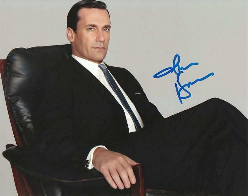 JON HAMM.. Mad Men's Don Draper - SIGNED