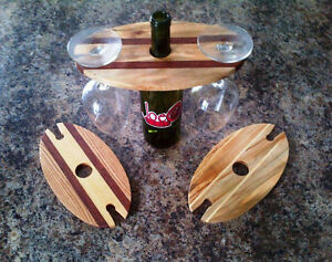 Locally Handcrafted Wine Display Racks