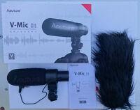 Condenser shotgun mic for DSLR or video camera