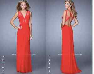 PROM DRESS FOR SALE,RED LAFEMME DRESS West Island Greater Montréal image 3