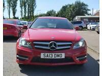 2013 Mercedes-Benz C-CLASS 1.6 C180 BLUEEFFICIENCY AMG SPORT 2d 154 BHP Coupe Pe