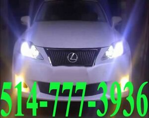 LEXUS KIT HID XENON CONVERSION CAR HEADLIGHTS PHARE INSTALLATION