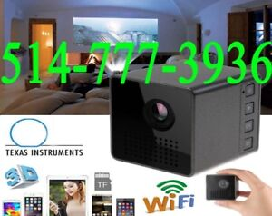 ★★★Micro Projecteur WIFI Wireless Pocket LED Pico SmartMiracast★