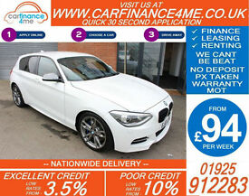 2013 BMW M135i 3.0 SPORT GOOD / BAD CREDIT CAR FINANCE FROM 94 P/WK