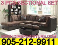 3PCS SECTIONAL SET $699 LOWEST PRICE GUARANTEED