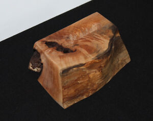 Maple Wood Desktop Business or Other Card Holder - Vertical Comox / Courtenay / Cumberland Comox Valley Area image 2