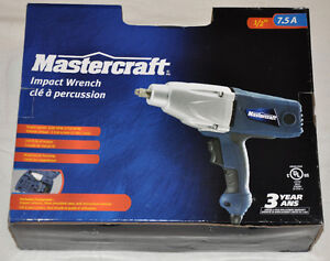 "New Mastercraft 1/2"" Impact Wrench / Gun"