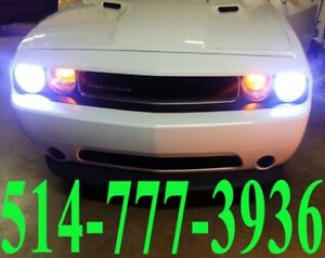 DODGE CONVERSION KIT HID XENON CAR HEADLIGHTS PHARE INSTALLATION