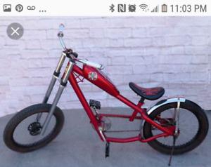 chopper bicycle west cost custom