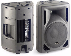 ONE STAGG PROFESSIONAL PA / MONITOR POWERED SPEAKER..