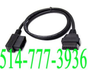OBD2 Extension Cable ELM327 Fil Rallonge