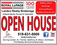 Open Houses in St. Thomas!!