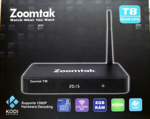 Android Box - Zoomtak T8 Quad Core Smart TV Box with KODI