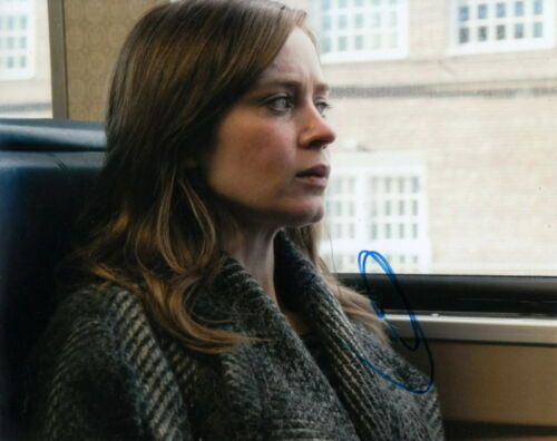 EMILY BLUNT.. The Girl On The Train - SIGNED