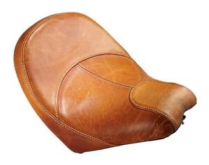 Indian Scout stock tan seat