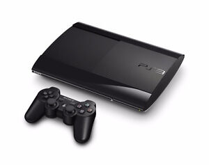 PS3 super slim 250 gb great condition comes with games